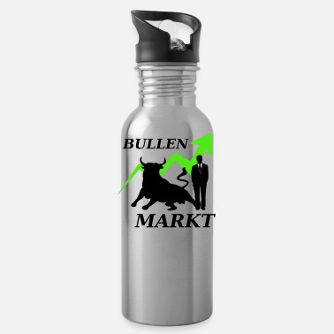 Market Stock market market - Water Bottle