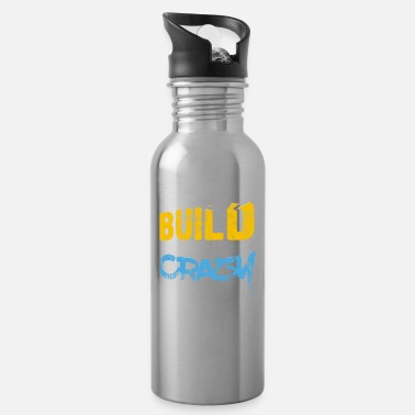 I do strength training body building gift - Water Bottle