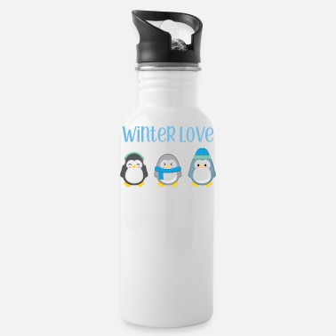 Inverno Penguin - Inverno - dono - Dolce - Penguins - Borraccia