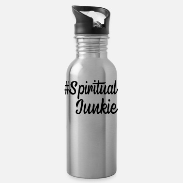 Spiritual # Spiritual junkie - Water Bottle