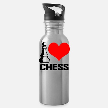 I Heart i heart chess - Gourde