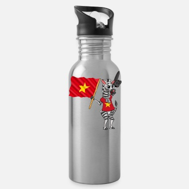 Vietnamese Vietnamese zebra - Water Bottle