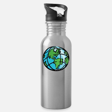 Habitat Earth Day Saves The Only Planet Habitat - Water Bottle