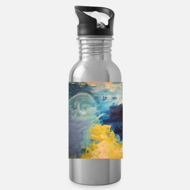 Paint Brush Original art print Kampf - Water Bottle