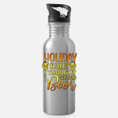 Lettertype Holiday Cheer - Drinkfles