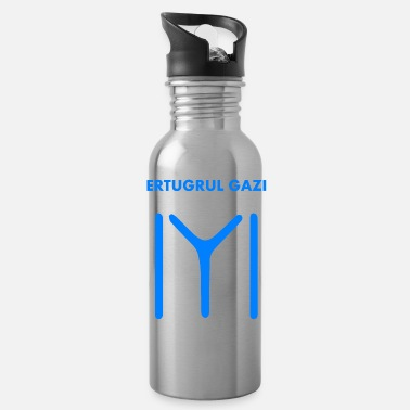 Kayi Ertugrul Gazi - Kayi Flag - Ottoman Empire - Water Bottle