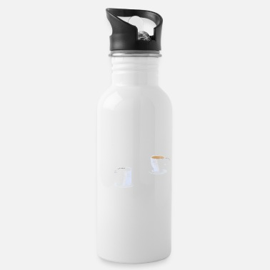 Coffee Latte Coffee Latte Funny saying gift - Water Bottle