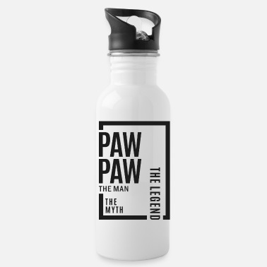 Paw Paw Paw The Legend - Water Bottle