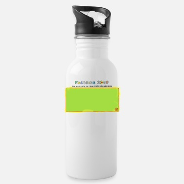 Shrove Monday Green Monday - Water Bottle