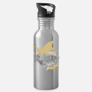 Always Be A Cheetah No Limit Cheetah Diamond Gold - Water Bottle