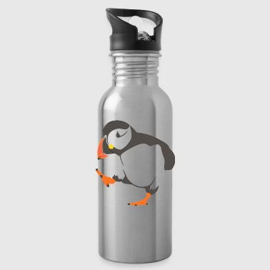 Walking  puffin - Water Bottle