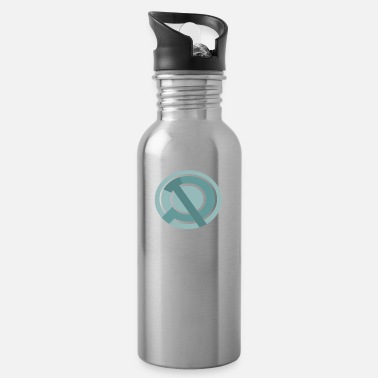 hammer and sickle modern modern hammer and sickle - Water Bottle