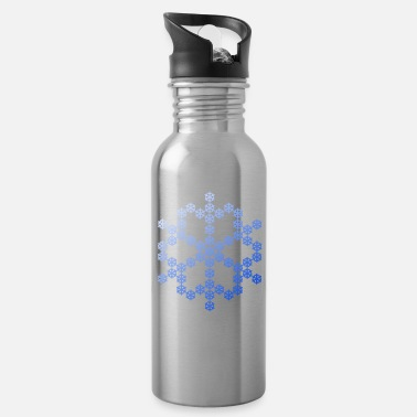 Snowflake Snowflake from Snowflake Snowflakes - Water Bottle