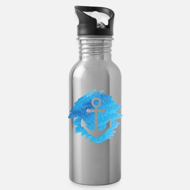 Anchor watercolor - Water Bottle