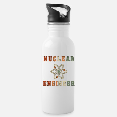 Radioactive Best Nuclear Engineer Tshirt, Funny Unique Design - Water Bottle