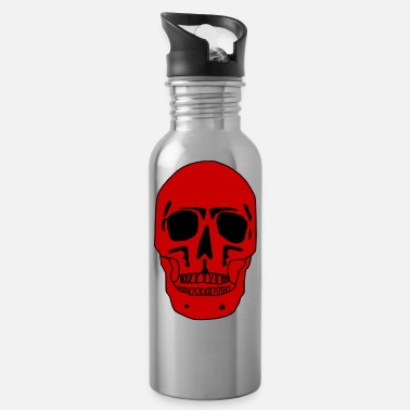 Zombie Skull Pirate Bones Skull Halloween - Drinkfles