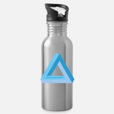 Decepticon Mission Impossible (Blue Triangle Edition) - Water Bottle