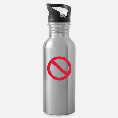 Drugs No drugs - Water Bottle
