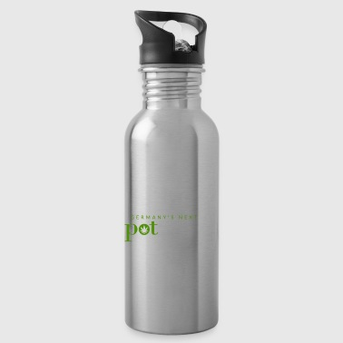 Germany´s Next Pot Model - Cannabis Motiv - Trinkflasche