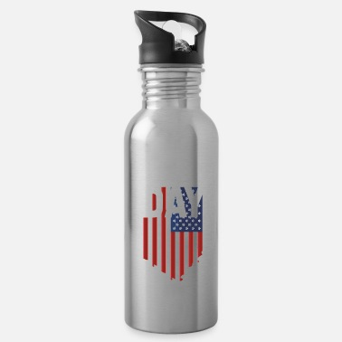 Remembrance Memorial Day - Remembrance of the fallen - Water Bottle