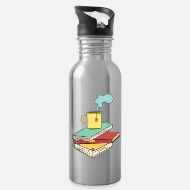 Book Children Books shirt children - Water Bottle