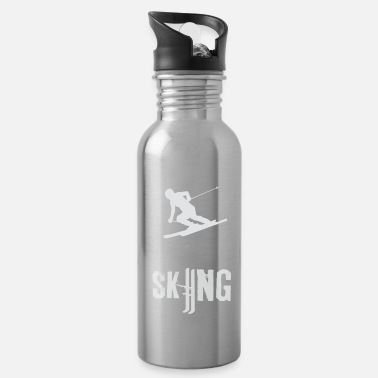 Ski Skiing - Skiing - Skiing - Skiing - Water Bottle