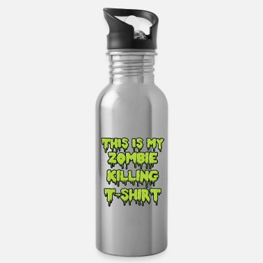 Jeeper Zombie killing shirt gift - Water Bottle