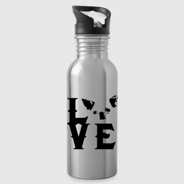 Chihuahua Chihuahua love owner lover Wuff gift - Water Bottle