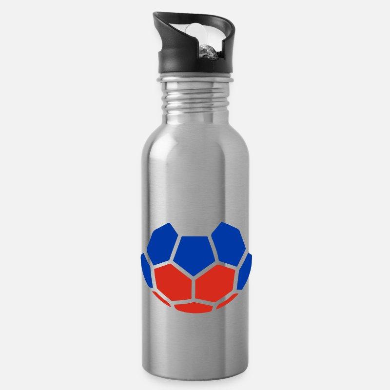 Geschenke Russland Weihnachten.Fußball Geschenk Russland Weihnachten Trinkflasche Lightsilver