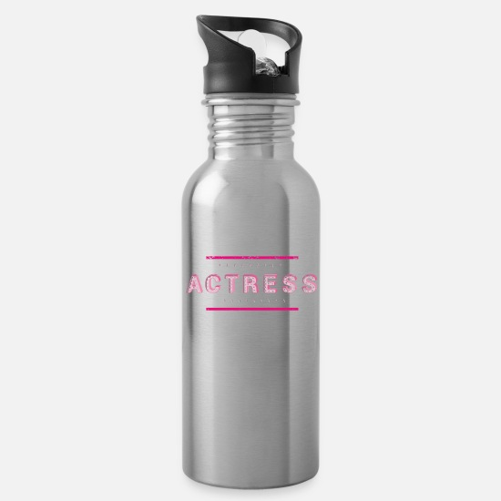 Actress Mugs & Drinkware - actress - Water Bottle silver