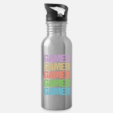 Gamer GAMER GAMER GAMER Shirt - Water Bottle