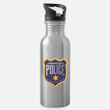 Grammar Grammar police - Water Bottle