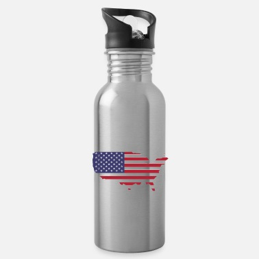 Nort America United States - United States - America - America - Water Bottle