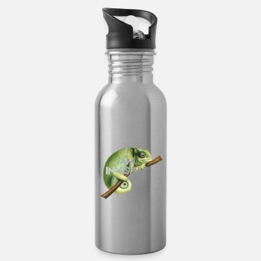 Invisible Invisible chameleon - Water Bottle