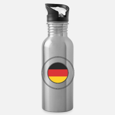 Germany Germany german flag national colors football - Water Bottle