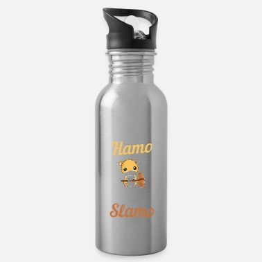 Hamster Pet Animal Kid Rodent Funny - Water Bottle