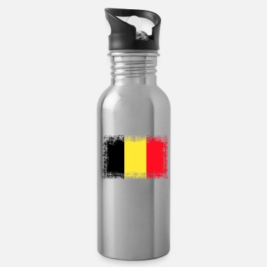 Country Flag Belgium country flag - Belgium - flag - Water Bottle