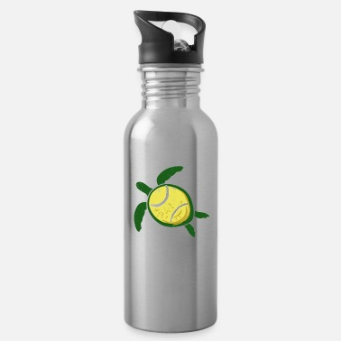 Tennis ball shields tennis toad ball gift - Water Bottle