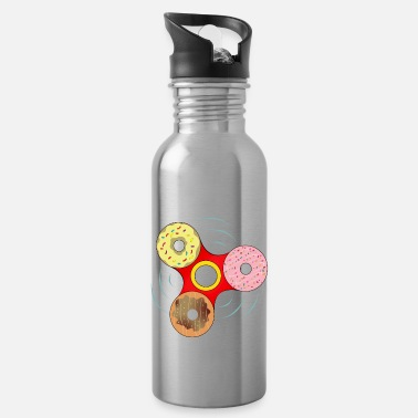 Spin Donut spin - Water Bottle