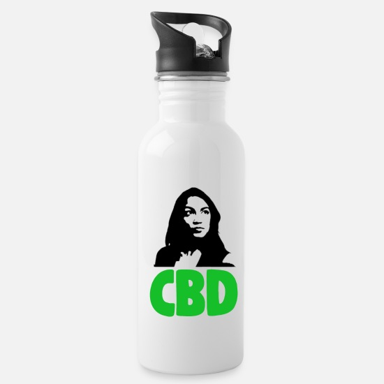 Love Mugs & Drinkware - CBD Women Gift - Water Bottle white