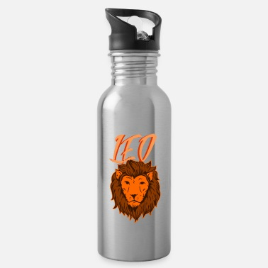 Leo Zodiac Leo Leo - Water Bottle