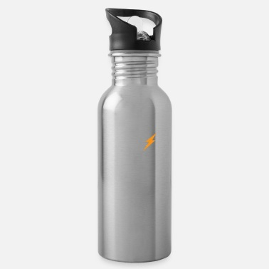 Parents Electrician - heart line, heartbeat, pulse, cardio - Water Bottle
