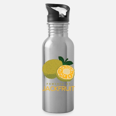 Lovely Funny Vegan Powered By Jackfruit Gift product - Water Bottle