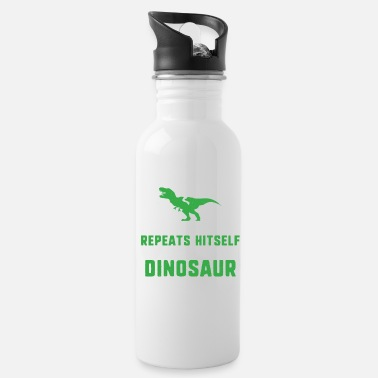 Meme TEE im getting a dinosaur funny humor jokeI'm gett - Water Bottle