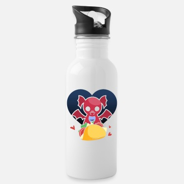 Super Dragons Love Tacos design, Dragon design, Taco - Water Bottle