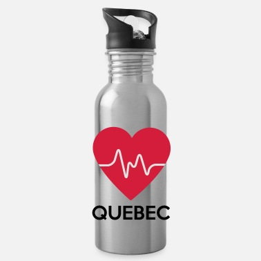 Quebec heart Quebec - Water Bottle
