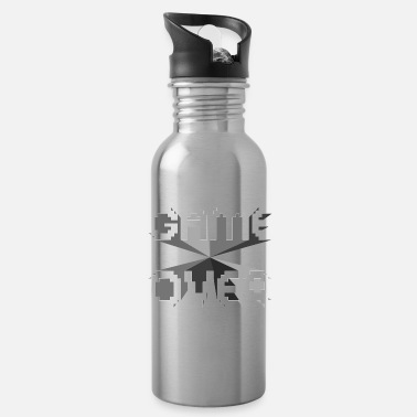 Over Game Over - Water Bottle