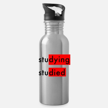 Studies Studying Studied - Water Bottle