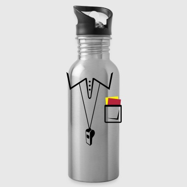 Soccer referee jersey - Water Bottle