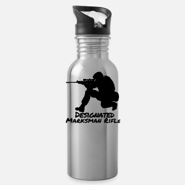 Marksman Designated Marksman Rifle DMR BW Gift - Water Bottle
